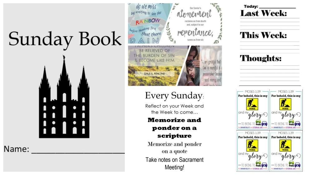 Sunday book header