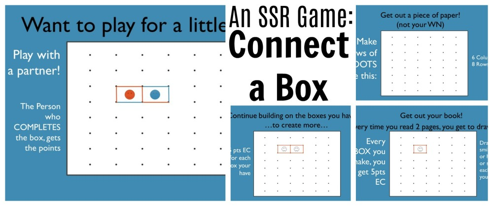 Connect a Box SSR Game