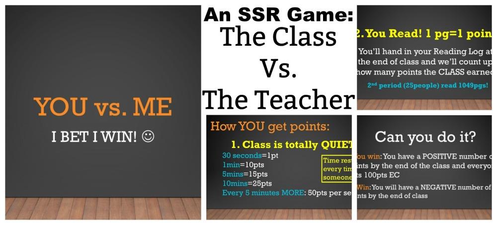 The Class vs The Teacher SSR Game